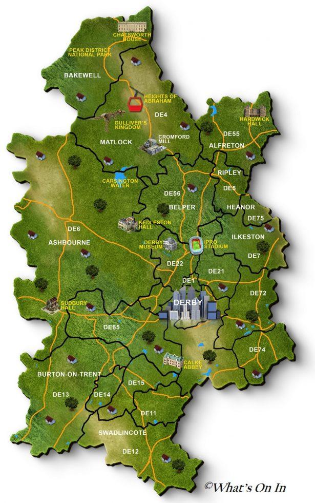Derby Map