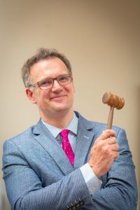 Under the Hammer: An Evening with Charles Hanson
